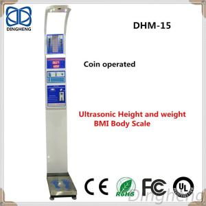 Digital Height Weight Scale Coin Operated Weight And Height Scale