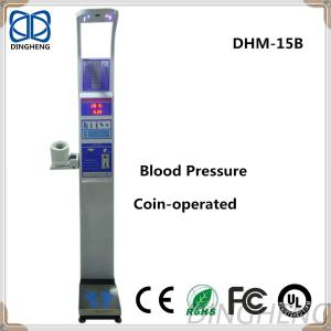 Health Body Human Scale Balance With Coin Machine And Heart Rate/Pulse