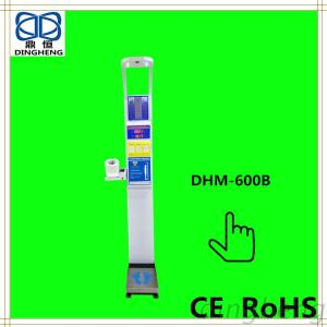 DHM-600B Coin-Operated Body Scale BMI Weight Scale With Height Fat