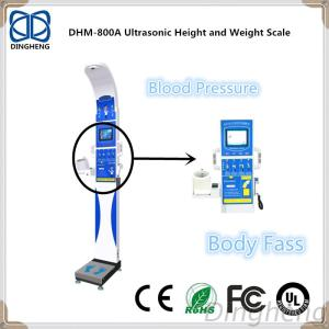 Ultrasonic Electronic Body Height And Weight Scale With BMI Skeletal Muscle Rate Measure