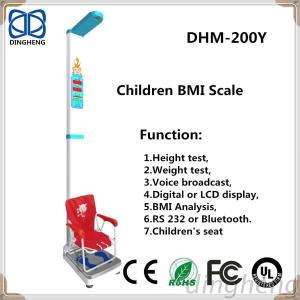 Child Students Height Mesurement Meter And Weighing Scale With Weight Sensor