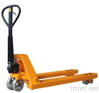 China Low Price Df 2.5 Ton Ce Hydraulic Rubber Wheel Manual Hand Pallet Truck