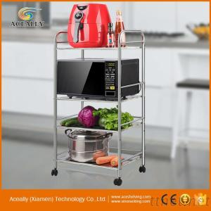 NSF 4 Tiers Metal Wire Kitchen Rack