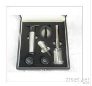 6Pcs Wine Tool In Pu Leather Gift Box