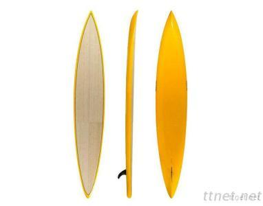 14' One Side Bamboo Racer Board