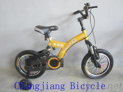 Children Bicycle With Suspensions