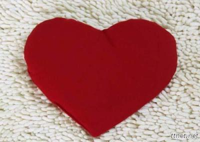 Red Heart Cherry Stone Pillow