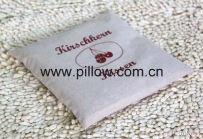 Red Cherry Stone Pillow