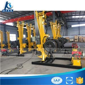130M 200M Electric Or Diesel Engine Hydraulic Self-Travel Trailer Water Well Geothermal Drilling Machine