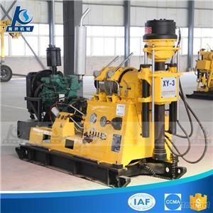 Portable Trailer Type Geological Exploration Gold Mine Sample Wire-Line Core Drilling Rig