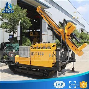 Diesel Engine Small And Light Model Rubber Crawler Hydraulic Anchoring Drilling Rig
