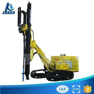 Diesel Engine And Electric Double Power Hydraulic Crawler Mounted Medium Air Pressure Down-The-Hole Drilling Rig