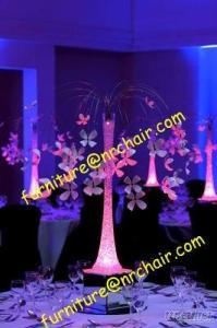 Wedding Acrylic LED Glowing Tabletop Decorative Centerpiece