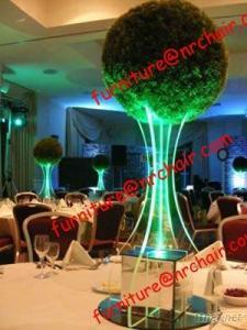 Banquet Party Acrylic LED Glowing Tabletop Decorative Centerpiece