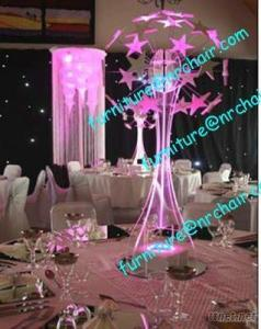 Wedding Acrylic LED Lighted Table Decorative Centerpiece