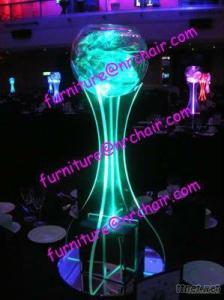 Banquet Party Acrylic LED Lighted Table Decorative Centerpiece