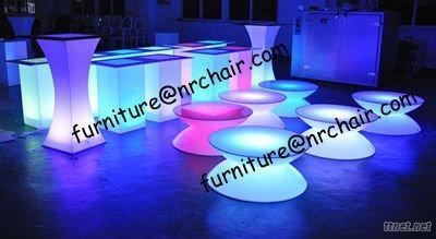 Bar Nightclub Acrylic LED Glowing Lounge Coffee Table