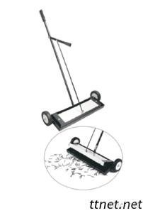 Magnetic Sweeper With Release Lever