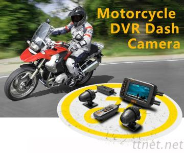 HFK Support GPS Track Motorcycle Dvr Dash CAM With Fhd 1080P