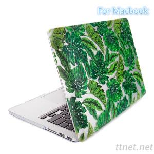 Print Leaf Abstraction Design PC Case For Notebook , Notebook Case