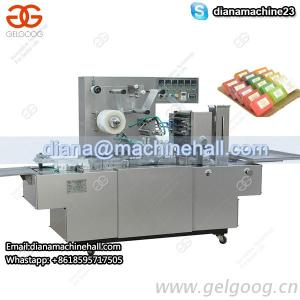 Automatic Box Cellophane Over Wrapping Machine With Transparent Film