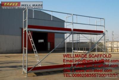 Layher Frame Scaffold