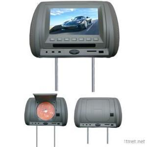 7 Inch Headrest Pillow DVD And Monitor