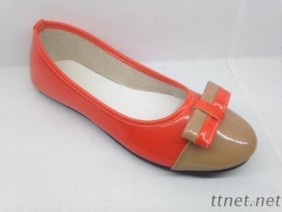 Ladies Dress Shoes With Good PU Upper And TPR Outsole