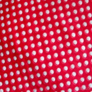 stereo printed pattern textile fabric