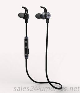 Sports Metallic Bluetooth Headset With Magnetic