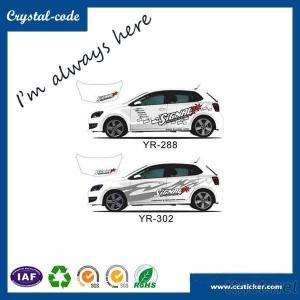 Durable Decal Uv Protection Car Decorative Sticker