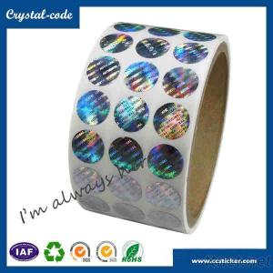 Anti-counterfeiting tamper evident VOID normal hologram label