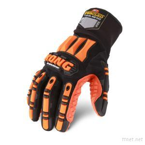 Ironclad Kong SLIP AND OIL RESISTANT High Visibility Maximum Grip Safety Gloves Impact Gloves Protection Gloves
