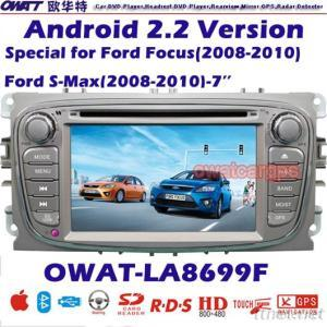 Car DVD GPS for FORD FOCUS with Android System 3G Dongle Function and WIFI