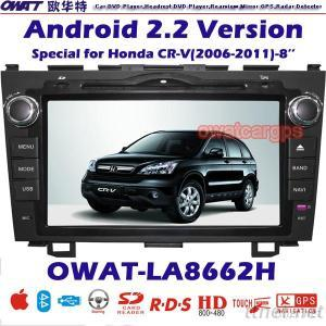 Car DVD GPS for Honda CR-V with Android System 3G Dongle Function and WIFI