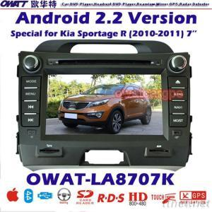 Car DVD Player for Kia Sportage with Android System 3G Dongle Function and WIFI Card