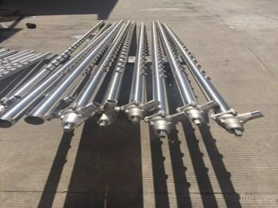 Stainless steel paper sprays and nozzles