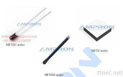 MF52&MF52E&MF52D Series Precise Bead NTC Thermistor Applied To Temperature Measurement And Controlling