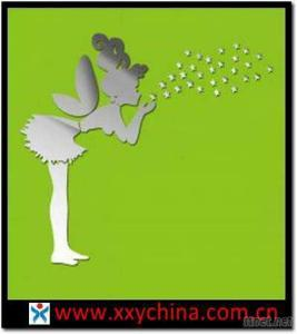 Angel Acrylic Mirror Wall Sticker