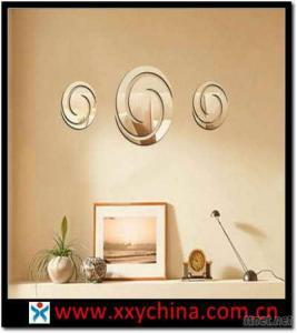 Round Shape Mirror Stickers