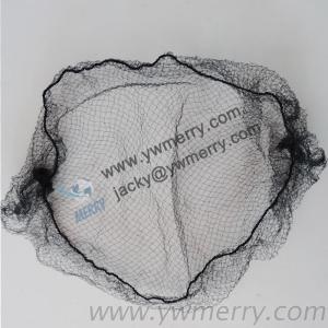 Good Quality Nylon Disposable Hair Net 5Mm/7Mm/10Mm Mesh Hair Net Used For Package Curly Hair And Wig Cap For Food Industry