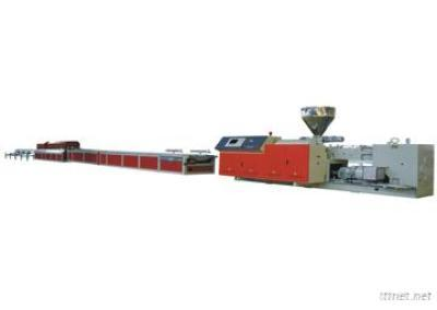 Wood/Plastics Co-Extrusion Foaming Production Line