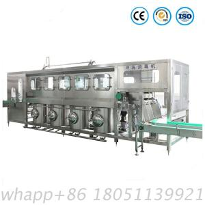 Complete Automatic 5 Gallon Drinking Water Packing Filling Machine