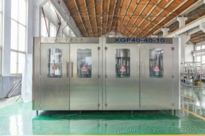 Plastic Bottle Carbonated Drink Washing Filling And Sealing Machine