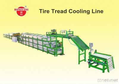 Tire Tread Cooling Line