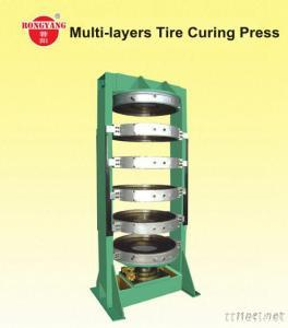 Multi-Layers Tire Curing Press YLL-760