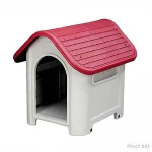 2012 Fashional Plastic Dog House In White & Red