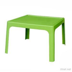 Plastic Kid Table With Square Design For Writing