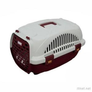 2012 Newest Fashional Plastic Pet Carrier Cage With Door And Handle