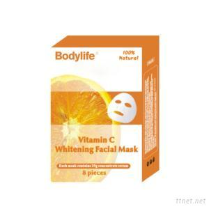 Orange Vitamin C Nutrition Skin Care Facial Mask